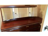 Dressing Table with Mirror and Chester Draws