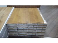 Tuscan Elite Flooring Oak Natural Brushed & Lacquered TF400 (Per Pack)