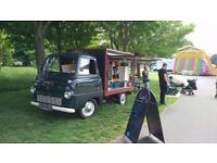 Ford Thames Coffee Van fully restored and fitted with brand new top of the range equipment, Stunning
