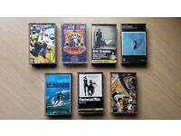 7 x Various Cassettes, Beach Boys, Eric Clapton, Eagles, Fleetwood Mac, Solid Soul, Formula 30.