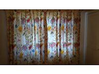 Jane Churchill girls heavy drape curtains