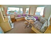 STUNNING PRE-OWNED STATIC HOLIDAY HOME FOR SALE WHITLEY BAY HOLIDAY PARK SITE FEES INCLUDED