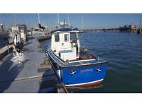 Cheverton 24ft fishing boat