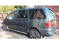 Seat Alhambra 04 , 1.9 tdi , 130 hp , 7 seater , Belfast.