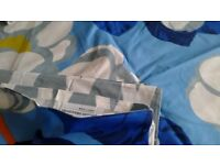Designers Guild Super King duvet cover and pillowcases, never used. 100% fine quality cotton