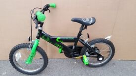 Ultimate Alien Kids Childs Bike Pick 16 inch