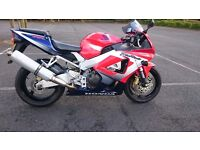 2002 Honda CBR900 RR y Fireblade Low miles PX and delivery possible