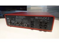 Focusrite 18i8 (2nd Gen) - Great condition, unboxed. Comes with all power & USB cables.