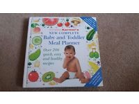Annabel Karmel Baby & Toddler Meal Planner book