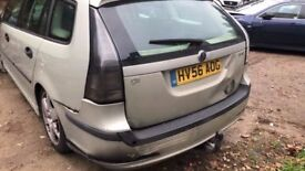 breaking a saab 9 3 silver 5 door estate diesel all of the parts are available just ask for prices