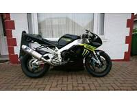 Yamaha R1 tech 3 replica 2000 5jj road legal track bike swap p/x enduro why