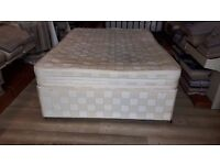 Double mattress & divan ( 2 draws )