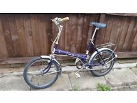 Vintage Puch City Bike - Well Equipped and Great Working Order