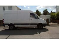 Female - removal and courier service