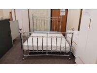 Empress Chrome King Size Bed Frame By Julian Bowen BED ONLY Can deliver