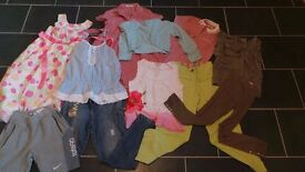 Age 9/10 girls clothes bundle!! £5!! All good quality brands - Monsoon, Nike, Next