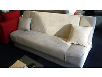 New clearance bonnel sprung quality storage sofabed
