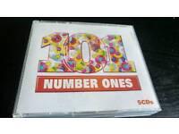 101 NUMBER ONES..5 CDS BOX SET.