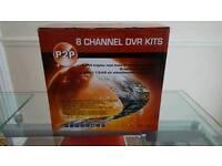 Brand new CCTV 8 channel dvr kit
