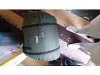Memory foam sleeping bag wideboy brand new