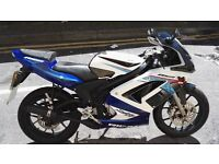 Rieju RS2 50cc race replica 5 Speed manual Gears