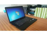 FAST HP COMPAQ 610 HD WIDE SCREEN LAPTOP WEBCAM DVD WIFI WINDOWS 7 GUARANTEE CAN DELIVER
