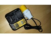 New Dewalt DCB107 10.8 to 20V Max Li-ion Battery Charger replaces DCB115 & DCB12