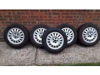 Rover 75 05 tourer alloy wheels 15 x 6J