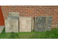 PAVING SLABS FOR FREE - COLLECTION FROM COVENTRY
