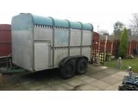 Livestock trailer,ifor williams