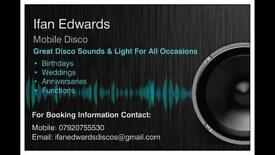 Mobile Disco - Great Sound And Lights For All Occasions!
