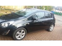 2013 Vauxhall Corsa SXI Black , Low Genuine Miles