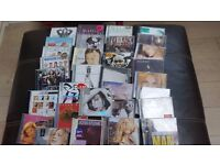CDs - job lot of female singers incl. Madonna, Fleur East, Joss Stone and Kylie