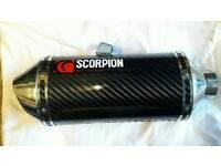 Scorpion Red power exhaust