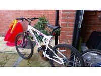 Ladies unused bike excellent condition