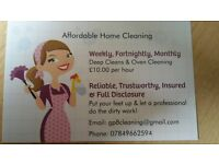 Affordable Home Cleaning
