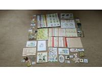 GARDENING THEME CARD MAKING ITEMS