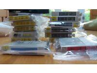 Epson compatible printer ink various colours T0711-T0714
