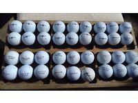 Top flite used golf balls