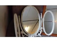 Old retro dressing table mirror in Good condition
