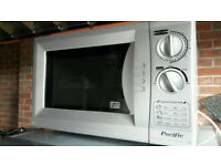 Pacific Microwave Oven PMW2 Silver