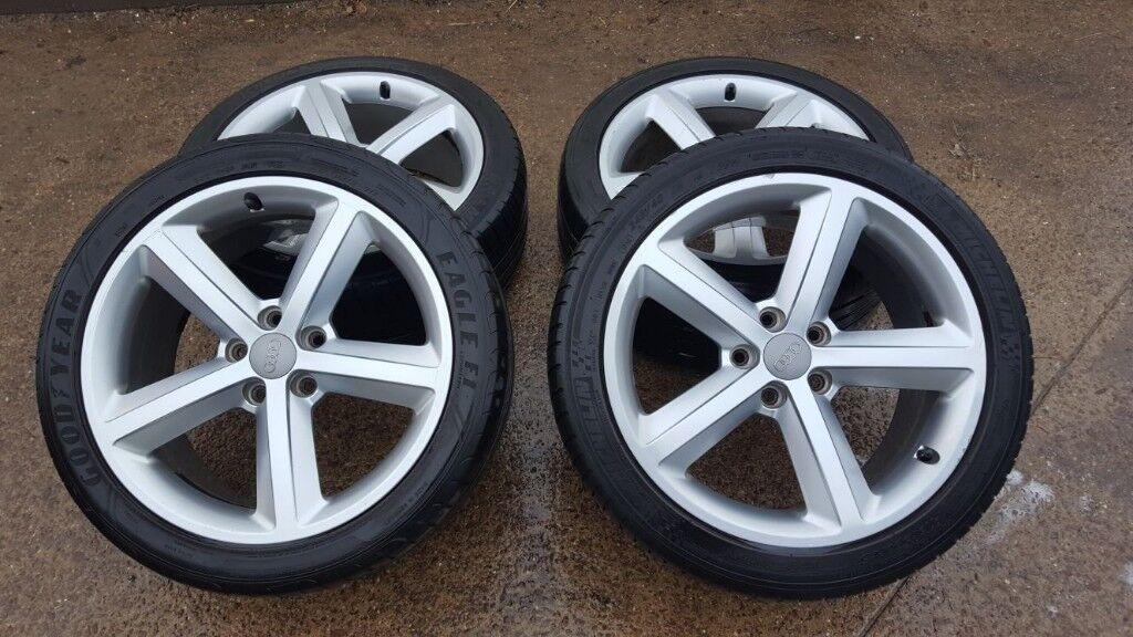 4 x Audi/VW 18' alloy 5x112 s-line with tyres !