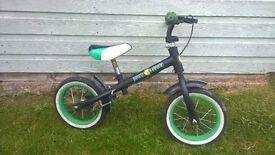 Child Running bike - ideal to teach a child balancing on two wheels