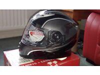 BRAND NEW ROCC 485 MOTORCYCLE HELMET (SMALL ) BNIB
