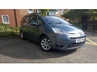Citroen Grand C4 Picasso 1.6 Diesel Auto Exclusive 7 Seats, 1 Prev Owner, Full History, MOT Apr 2018