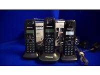 Panasonic Trio Cordless Phone KX-TG1613