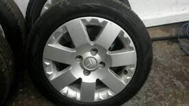 """Citroen c2 alloy wheels 15"""""""