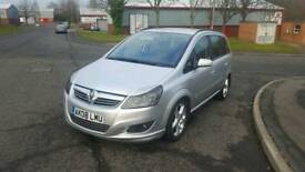 2008 Zafira 7 Seater - Very Low Miles - 1.6 Petrol