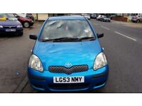 Toyota yaris 1.0 litre very reliable