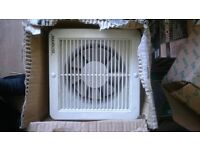 """MANROSE MAINS 6"""" EXTRACTOR FAN WITH SWITCH"""